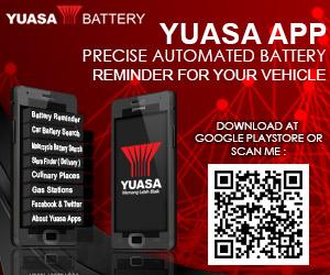 Yuasa Battery 300x250